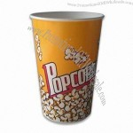 64oz Disposable Popcorn Cup