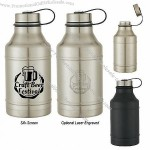 64oz Stainless Steel Wide Mouth Growler