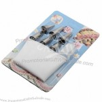 6pcs Pastry Tips and Decorating Bag Set