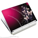 """7"""" 8.9"""" 10"""" 10.1"""" Pink Butterfly Netbook Laptop Skin Sticker Cover Protector"""