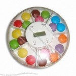 7-compartment Pill Box with Alarm Reminder