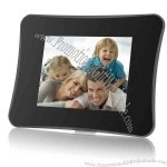 """7"""" DIGITAL PHOTO FRAME with MULTIMEDIA PLAYBACK."""