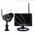 7-inch 4CH Wireless Recording Security System