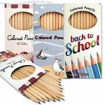 7-inch Colored Pencils in CMYK Printed Box