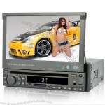 7 Inch Touchscreen 1 DIN Car DVD Player (GPS, DVB-T, Win CE)