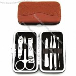 7 Pieces Nail Tools Traveling Manicure Pedicure Case Set