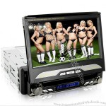"7"" Touchscreen In Dash Car DVD Player (1 DIN, GPS, DVB-T)"