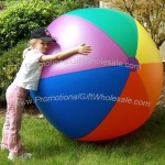 "72"" Rainbow Beach Ball"