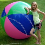 "72"" Tri-Color Beach Ball"