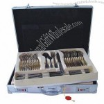 72PCS Stainless Steel Cutlery Set
