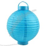 "8"" Battery Operated LED Hanging Paper Lantern"