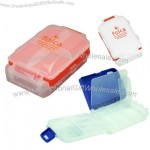 8 Compartments Folca Compact Pill Case