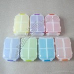 8 Compartments Foldable Pill Box