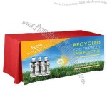 8' Digitally Printed Recycled Fitted Table Cover
