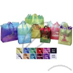 "8"" X 5"" X 10"" - Frosted Color Bag With Soft Loop Handles"