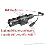 800lm All-Weather Military Flashlight