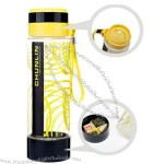 800ml Airless / Best Water Bottle With Lanyard And Pill box