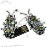 8GB Insect Jewelry Shaped USB Flash Drives