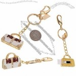 8GB Mini Handbag Diamond Jewelry USB 2.0 Flash Memory Drive Key Chain