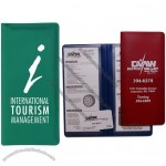 "9 1/8"" x 4 3/4"" Personalized Ticket Policy Wallet"