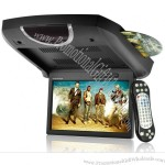 """9"""" Ultra-thin Roof-Mounted Car DVD Player (800 x 480, Games, Remote)"""