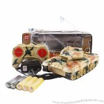 9CH with Flashing Light Tank Remote Control Toy