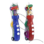 9pcs Assorted Plastic Golf Set with Carrier & Balls