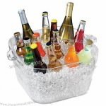 Acrylic Big Square Party Tub