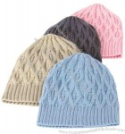 Acrylic Cable Knit Hat