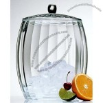 Acrylic Contours Ice Bucket Clear