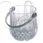 Acrylic Ice Bucket with Tongs