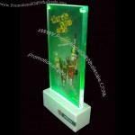 Acrylic LED Menu Holder