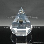 Acrylic Resin Dimond Paperweight Embedded Oil Drop
