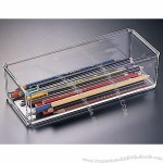 Acrylic Stack-able Pen and Pencil Box