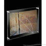 Acrylic Wall Mounted Poster Frame