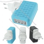 Adapter 4 USB Charger