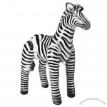 Adult Inflatable Zebra H 56 inches - durable and lifelike