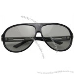 Adult Models Circular Polarized 3D Glasses for 3D 4D 5D Movie Game