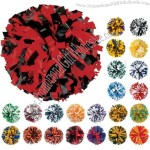 Adult Two Color Plastic Pom Poms