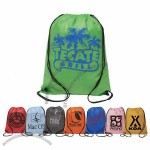 Aero Non-Woven Drawstring Backsack - ColorSurge