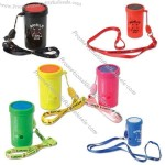 """Air horn noisemaker with lanyard, 3""""."""