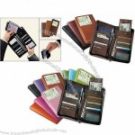 "Airline Ticket Wallet 9.25""x4.75""x1"""