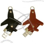 AirPlane Leather USB Flash Drive