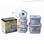 Airtight and Waterproof Food Container