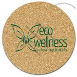 "All Natural Cork 4"" Circle Coaster"