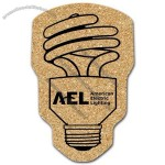 All Natural Cork Energy Efficient Light Bulb Coaster