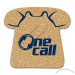 All Natural Cork Telephone Coaster