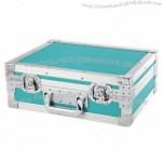 Aluminum Alloy Case with Tool Bag and 6 Storage Compartments