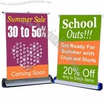Aluminum-alloy Desk Roll Up Banner Stands