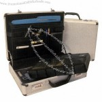 Aluminum Attache Case With Combination Lock Closure